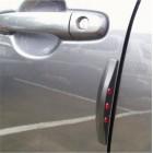 DOOR PROTECTOR BLACK REFLECTORS SET4