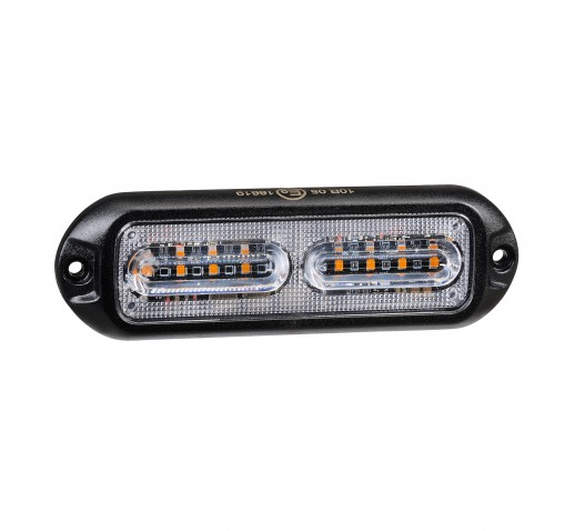 12/24V LED SELF CONTAINED WARNING LIGHT (AMBER)