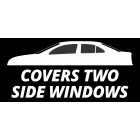 STATIC WINDOW TINT REMOVABLE