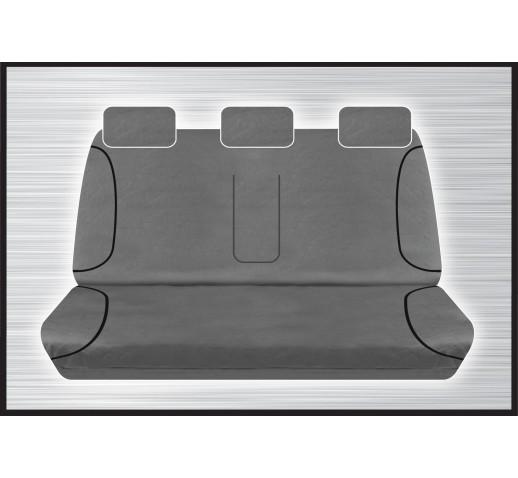GREY CANVAS REAR SEAT COVER - RANGER/BT50