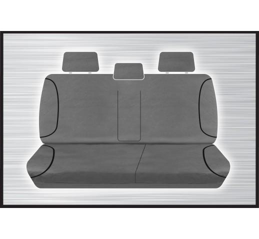 GREY CANVAS REAR SEAT COVER - COLORADO