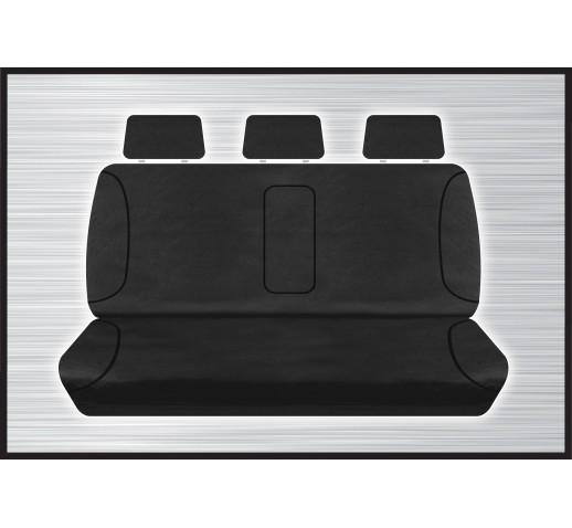 BLACK CANVAS REAR SEAT COVER - TRITON 05/2015 ONWARD