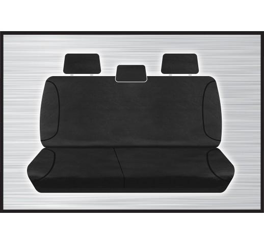 BLACK CANVAS REAR SEAT COVER - AMAROK 02/2011 ONWARD