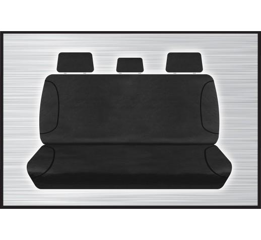 BLACK CANVAS REAR SEAT COVER - HILUX