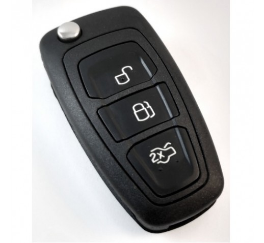 FORD MONDEO TRANSIT 3 BUTTON REMOTE SHELL & KEY REPLACEMENT