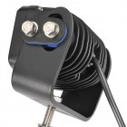 W/LAMP 2 X 10W LED RECT FLOOD