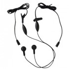 EARPHONE WITH MICROPHONE 1 PAIR